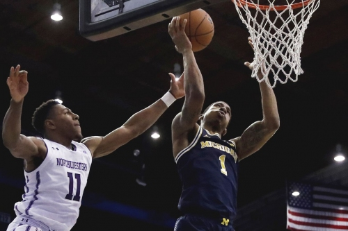 Michigan falls at Northwestern on the road amid offensive slump