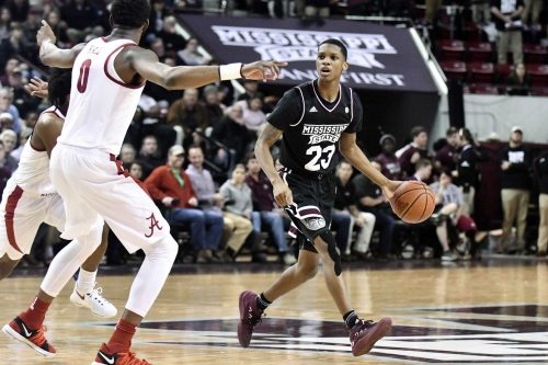 Mississippi State Bulldogs Beats Alabama Crimson Tide 67-63