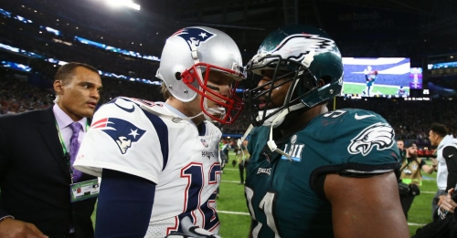 Patriots atop Super Bowl 53 odds, Eagles second on futures