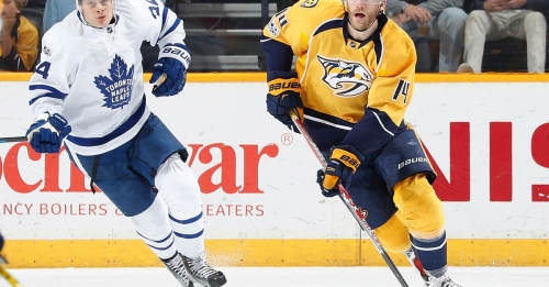 Nashville Predators @ Toronto Maple Leafs Preview: Silver Spoons