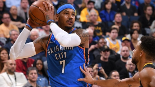 Carmelo Anthony (ankle) questionable vs. Los Angeles Lakers on Thursday | NBA.com