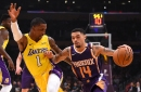 Ingram, Randle Lead Lakers Over Suns, 112-93