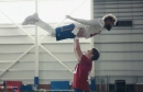 Did Eli Manning and Odell Beckham really do the 'Dirty Dancing' lift in that Super Bowl ad?