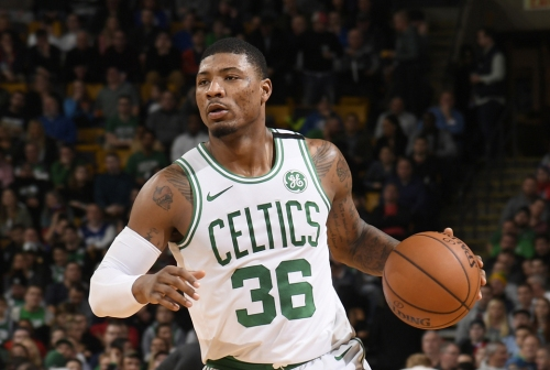 Report: Thunder Expressed Interest In Trading For Marcus Smart