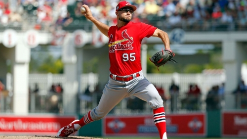 Daniel Poncedeleon, pitcher for St. Louis Cardinals, to work out after recovering from hit