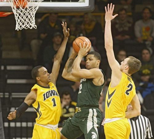 Highlights: Michigan State Spartans 96, Iowa Hawkeyes 93 | The Gazette