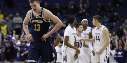 Michigan's shooting struggles continue in 61-52 loss at Northwestern