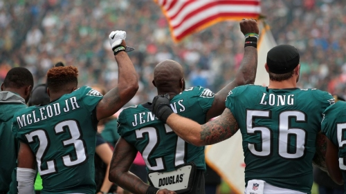 Malcolm Jenkins, Chris Long and Torrey Smith among Philadelphia Eagles who will turn down White House invitations