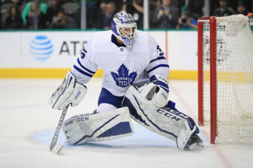 The Toronto Maple Leafs Goalie Depth Chart Doesn't Suck