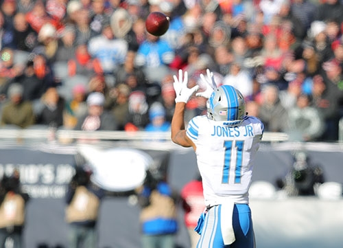 Jones Jr. excited about the Lions' passing attack