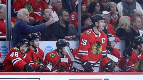 Can Corey Crawford save the Hawks' season? Do Stan Bowman's and Joel Quenneville's jobs depend on it?