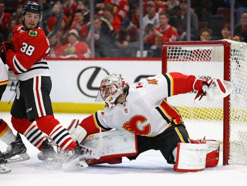What went well for the Calgary Flames in victory over Blackhawks?