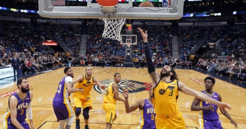 Surging Jazz crush Pelicans 133-109 for sixth straight win
