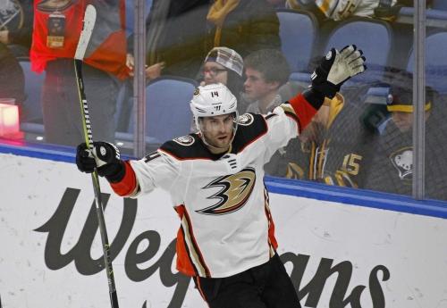 Ducks down Sabres in OT
