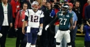 What Malcolm Jenkins yelled at Tom Brady after he dropped that pass in the Super Bowl