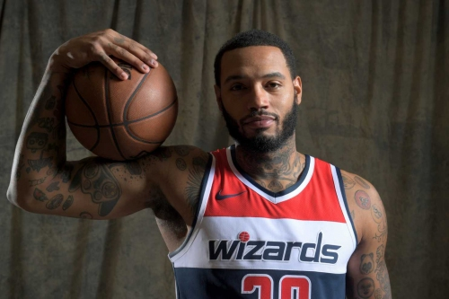 A year after the NBA rejected him, Mike Scott is a quirky Wizards locker room favorite
