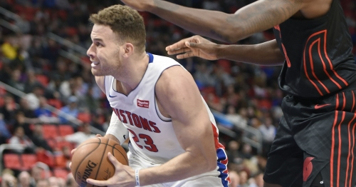 Pistons' Griffin ensures Hearn's NBA debut is memorable