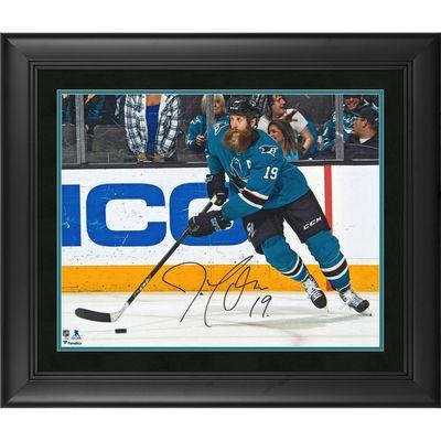 Joe Thornton San Jose Sharks Framed Autographed 16