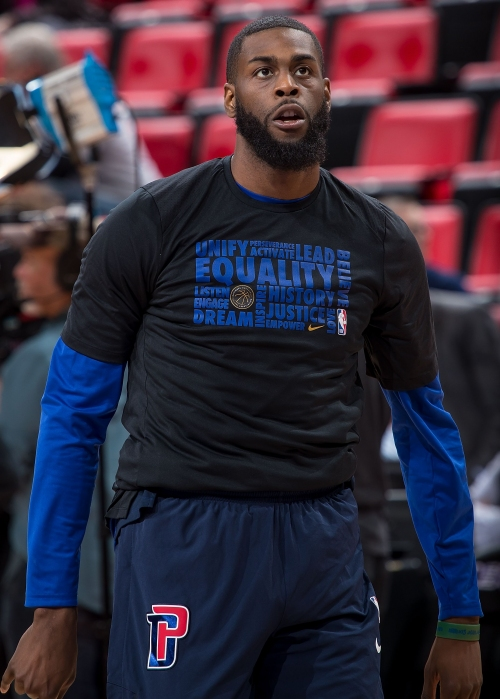 Detroit Pistons' Willie Reed suspended for six games