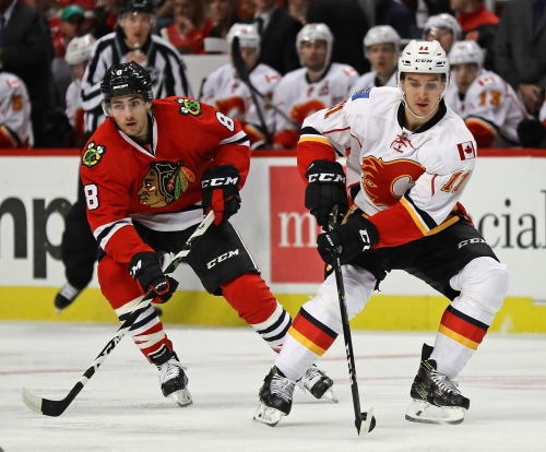 Chicago Blackhawks Hosting Calgary Flames Live Streaming Predictions And More