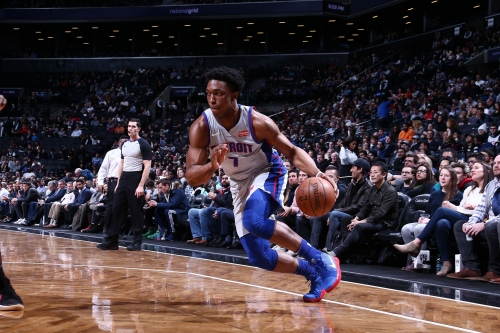 Stanley Johnson, Stan Van Gundy figuring the puzzle out