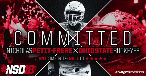 Nicholas Petit-Frere has committed to the Ohio State Buckeyes