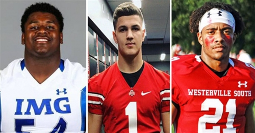 Ohio State Buckeyes football bios for 2018 recruiting class on National Signing Day 2018