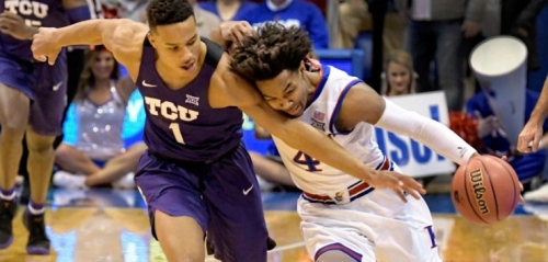 Jayhawks Fend Off Frogs