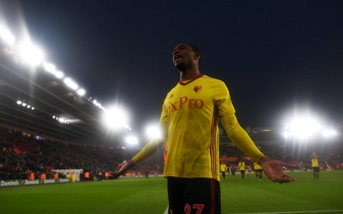Christian Kabasele explains confrontation with fans after Watford's FA Cup defeat to Southampton
