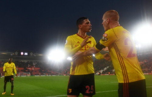 Watson defends Watford's fans as players have to be pulled away at full-time
