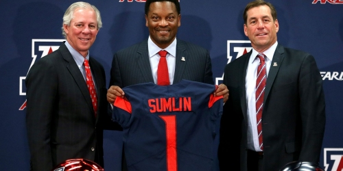 Kevin Sumlin set to positively impact recruiting as coach of the Arizona Wildcats