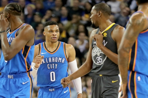 Warriors' poor habits continue in loss to Thunder