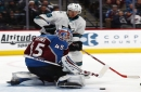 Bernier's 38 saves lead Avalanche past Sharks 3-1