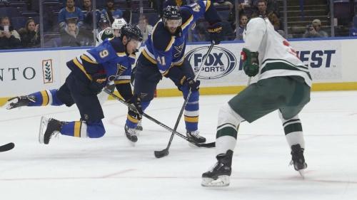 Gordo: Wild show Blues what desperate hockey looks like