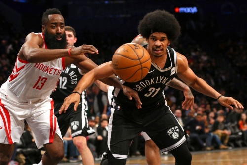MOMENT: Nets young bigs show what they can do vs. Rockets