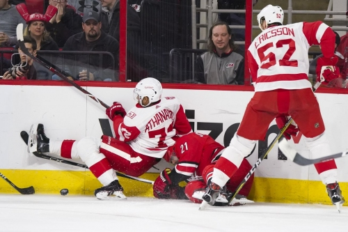 Our Sources Tell Us: Justin Faulk being shopped to Detroit?