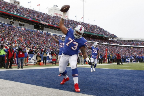 Dion Dawkins ready to replace Cordy Glenn if Buffalo Bills move on
