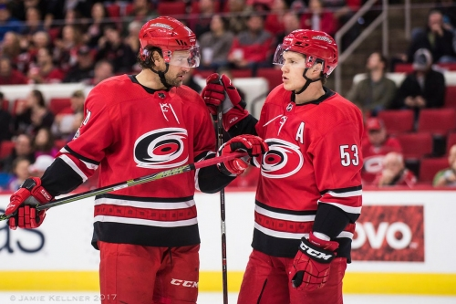Quick Whistles: Pointing Fingers, Jeff Skinner, and Trade Rumors