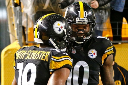 JuJu Smith-Schuster or Martavis Bryant: Who was the Steelers' second-best receiver in 2017?