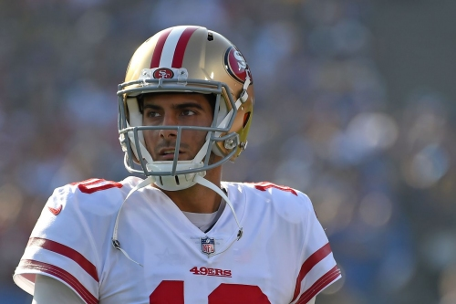 Price for top-tier NFL quarterbacks skyrockets with Jimmy Garoppolo deal