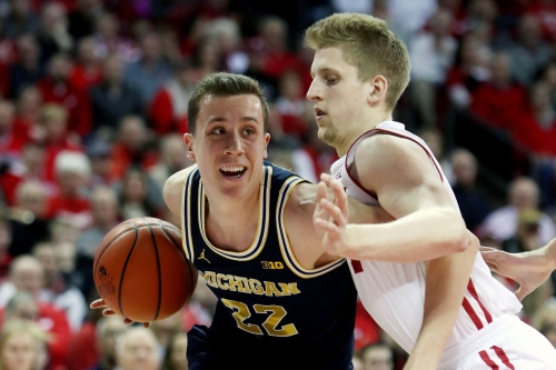 Wagner, Wolverines earn big road win at Wisconsin
