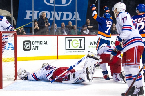 Rangers' futility against the Islanders reaches a new low