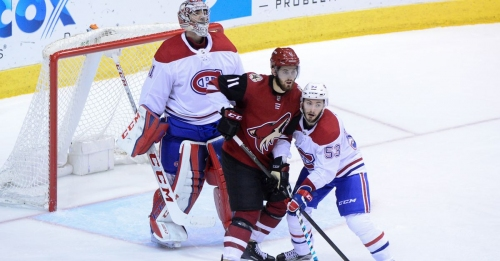 Canadiens vs. Coyotes Top Six Minutes: Comeback bid thwarted by league's worst team
