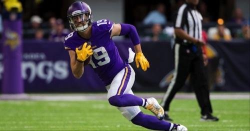 Minnesota Vikings wide receiver position status heading into 2018