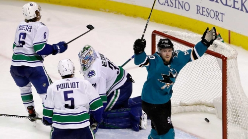 Takeaways: Inconsistent Canucks hard-luck losers vs. Sharks - Sportsnet.ca