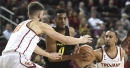 Metu's layup with 0.8 left wins it for USC, 72-70