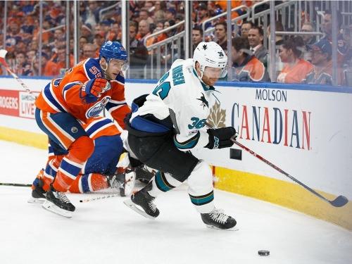 Ed Willes: Jannik Hansen, struggling with Sharks, insists he hasn't lost bite