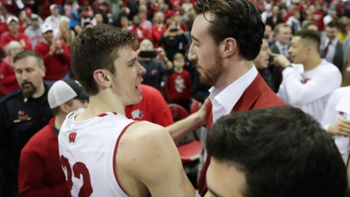 Tom Oates: Wisconsin Badgers' defeat of Purdue Boilermakers a perfect end to Frank Kaminsky night