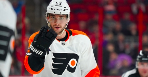 Flyers' Gostisbehere shares 'heavy heart' over shooting at his Florida high school