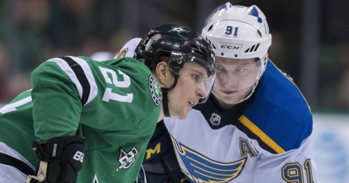 Blues face well rested Stars in wake of Nashville collapse